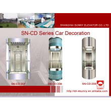 Observação cabine de elevador com esmalte Canopy (SN-CD-207)