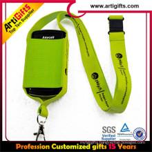 Best price custom heat transfer phone chest strap
