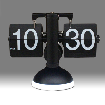 Retro Flip Clock con luz nocturna LED
