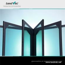 Portas de vidro Landglass envidraçamento térmico reflexivo a vácuo