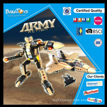 Special Offer! 2015 Hot sale military light up building block with plastic army toys