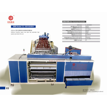 Benar-Benar Merek LLDPE Stretch Wrapping Machinery