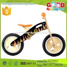 China factory direct sale plywood frame design wooden children bike