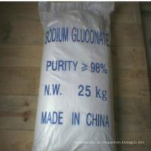 Gluconato de Sódio 98% Min como aditivos betonados