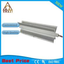 Elemento de aquecimento de resistência com dissipador de alumínio para aquecedor