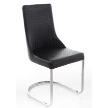 Modern PU Leather Metal Dining Room Chair
