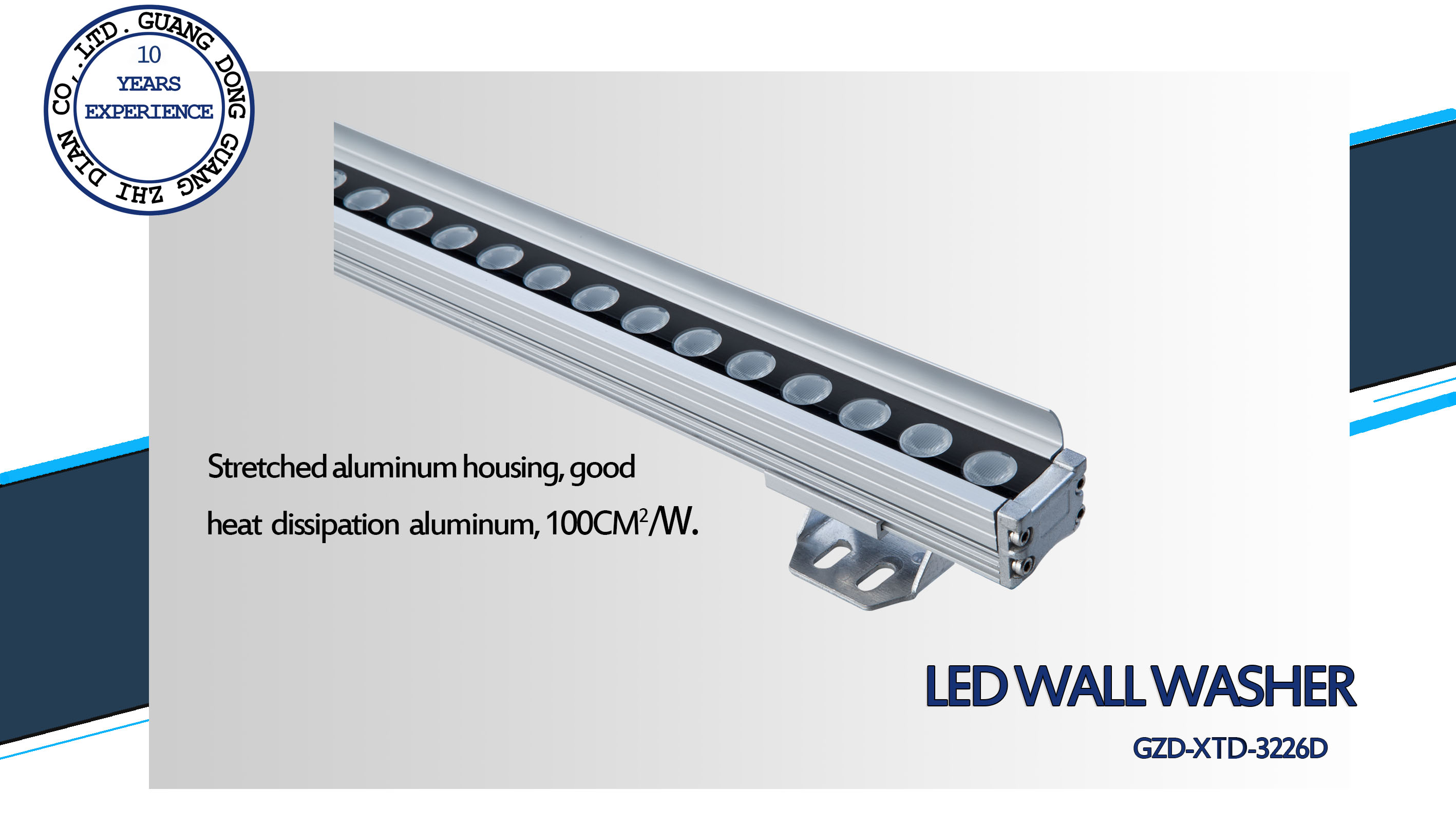 outdoor led linear light