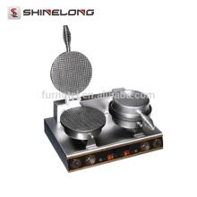 K322 Tischplatte Elektrische Eine Platte Eiscreme-Kegel Bäcker