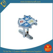 2014 Qualitäts-kundenspezifischer Firmenzeichendruck-Metallmanschettenknopf