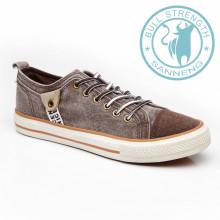 Chaussures pour hommes Chaussures en toile Sneaker Outsole en caoutchouc (SNC-011327)