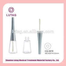 Embalagem para o caso de brilho labial lábio vazio