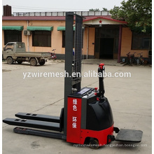 China supplier full electric stacker, electric forklift price