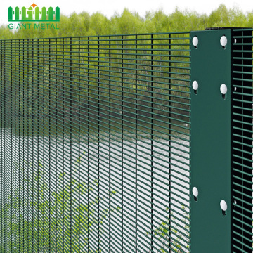 Galvanized Cheap Price  welded 358 Fence