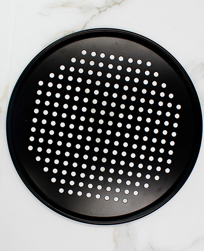 round perforated steam pan-black09