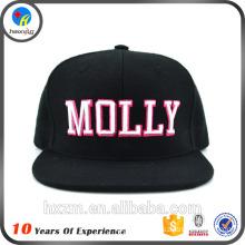 Adjustable Hat Small Order Blank Custom Embroidered Snapback Hats