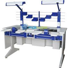 equipamentos de laboratório dentário (modelo: estação de trabalho (duplo) AX-JT6) (CE aprovado)
