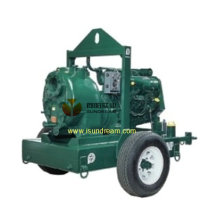 Self Priming Mobile Drainage Trailer Pump 8""