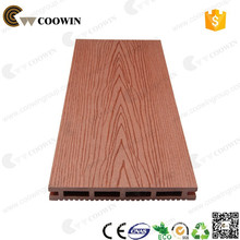 Building Material embossing WPC Outdoor Flooring 50% Wood Flour