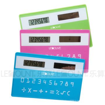 Calculateur de taille de carte de crédit solaire (LC523)