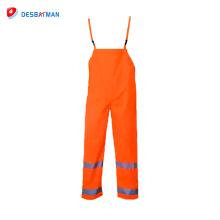 Pantalones de seguridad de cinta de advertencia de alta visibilidad mejor precio de venta superior