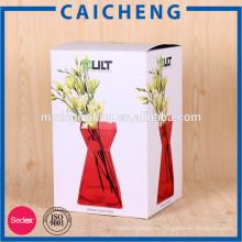 Картон бумажная коробка упаковки нестандартной конструкции бумажная косметическая коробка