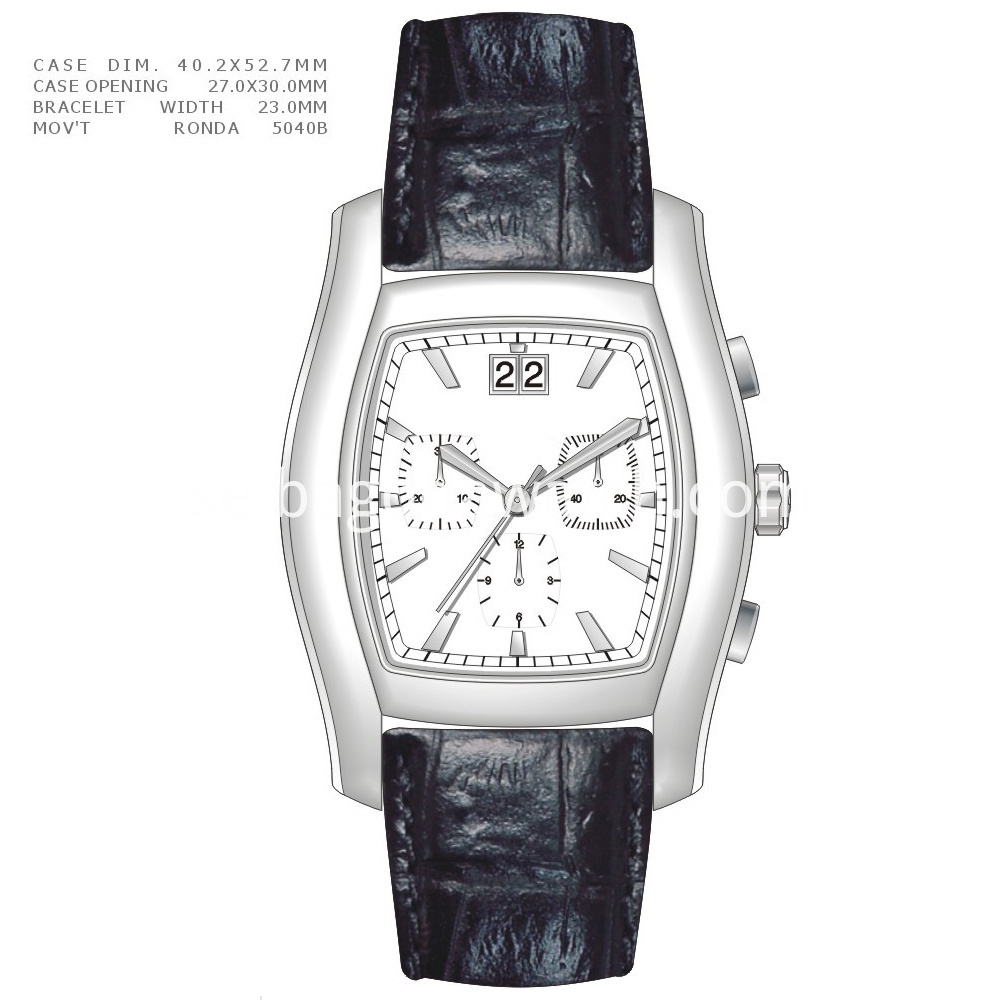 Square Men Watch