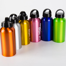 UK Environment Brands - Botella de agua de aluminio para comidas