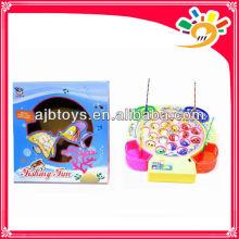 Plastic light musical kids fishing toys for sale