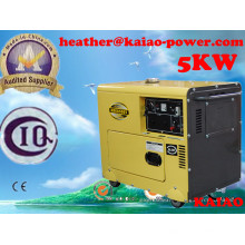 Genset pequeno China Gerador Diesel 5kw Air Cooled