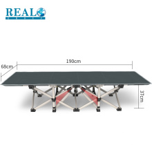 Fabricação de cama de solteiro design adequado para acampar ao ar livre e móveis cama
