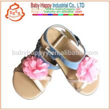Chaussures enfant enfant en plein air jolie sandale bébé bébé avec semelle en caoutchouc