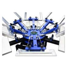 6-Color T-Shirt Silk Screen Printer China Manufacture