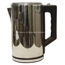 Hochwertiger Zylinder Aluminium Wasserkocher 2,2 L
