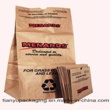Sacs en papier pour pelouse et feuille
