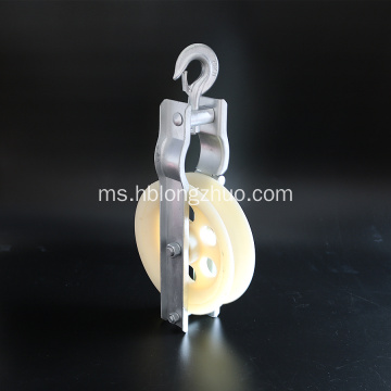 Stringing Rollers Pulley Blok Mesin Dengan Nylon Sheave