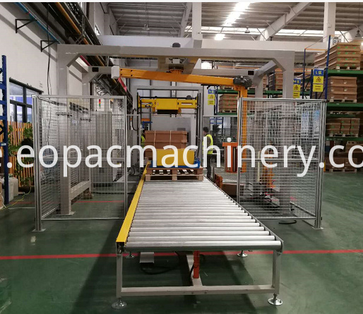 Automatic End-of-line Solution Wrapper Machine