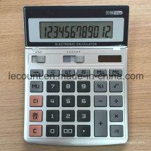 Calculatrice de bureau à écran variable à 12 chiffres à double alimentation (CA1215)