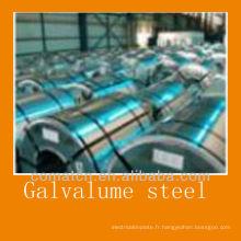 Bobine d'acier Galvalume laminées à froid en Chine