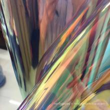 miroir tpu cuir coloré pu pour faire des chaussures