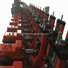 Logam Elevator Opend Guide Rail Roll Forming Machine