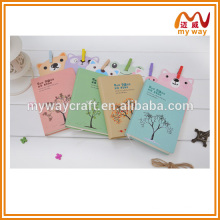 The tree of life pu notebook,haute couture leather notebook buy from china