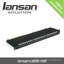 Panneau de connexion FTP Avec 24 ports / 48 ports Accessoires de câblage réseau