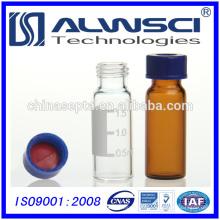 Flacon en verre auto-échantillonneur transparent de 2ML Clear hplc