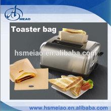 Eco-friendly Teflon coated fabric Toaster bags