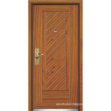 Steel Wood Entrance Door / Steel Wood Door (YF-G9058)