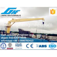 handy operation simple type straight arm crane
