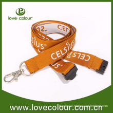 Custom hight quality woven neck lanyard for ID card
