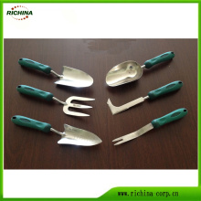 Stainless Steel Garden Hand Tools with Plastic Handle