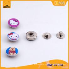Boutons Custom Metal Children Pressez Snap Button BM10705