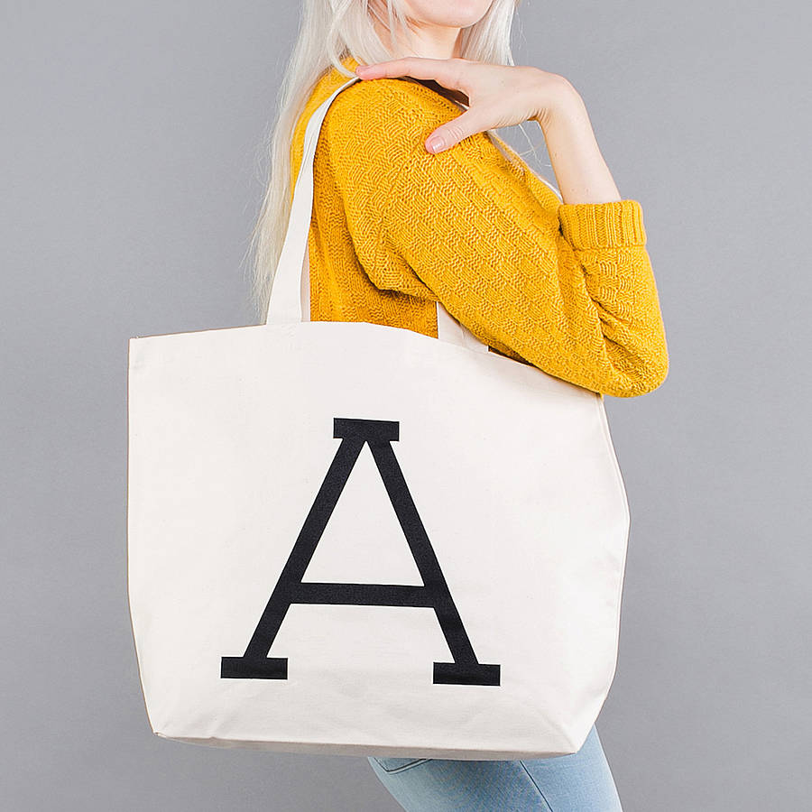pure color canvas bag